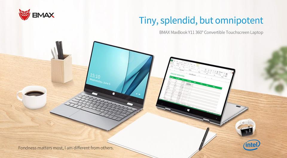 BMAX Y11 Intel Gemini Lake N4100 Windows 10 Laptop
