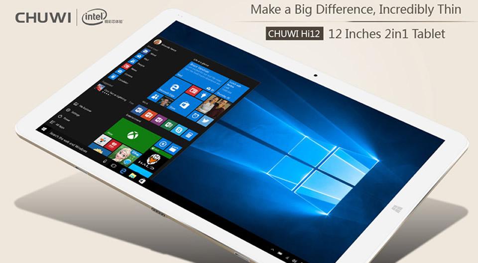 CHUWI Hi12 12 Inch Windows 10 Tablet