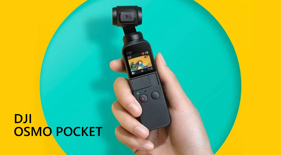 DJI OSMO Pocket Handheld Stabilized Gimbal Camera