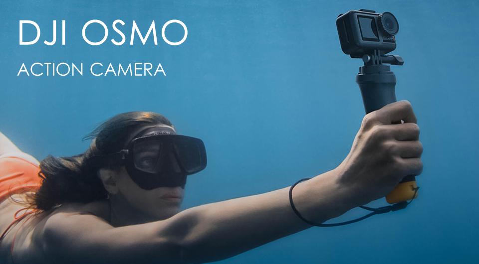 DJI Osmo Dual Screens 4K Waterproof FPV Action Camera