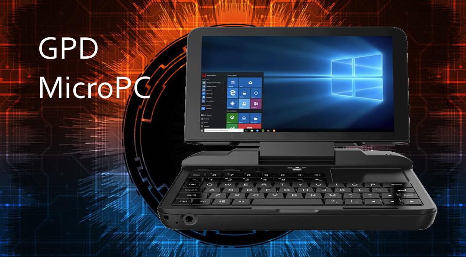 GPD MicroPC Intel Celeron N4100 Windows 10 Tablet PC