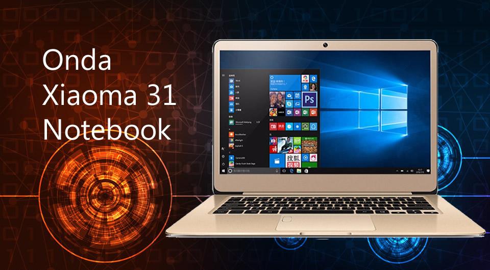 Onda Xiaoma 31 Win 10 Home Laptop Notebook