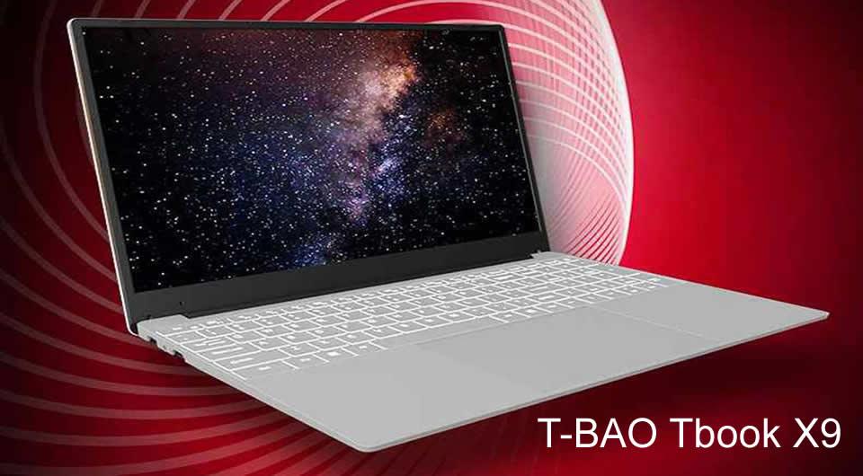 T-BAO Tbook X9 Intel Core i3-5005U Dual Core Windows 10 Notebook