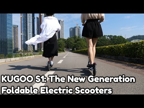 KUGOO S1 Foldable Electric Scooter Video