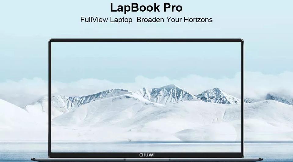 CHUWI Lapbook Pro Laptop – Grey