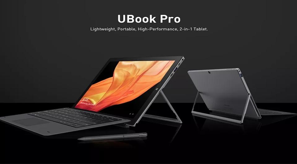 CHUWI UBook Pro Tablet 8GB RAM 256GB SSD