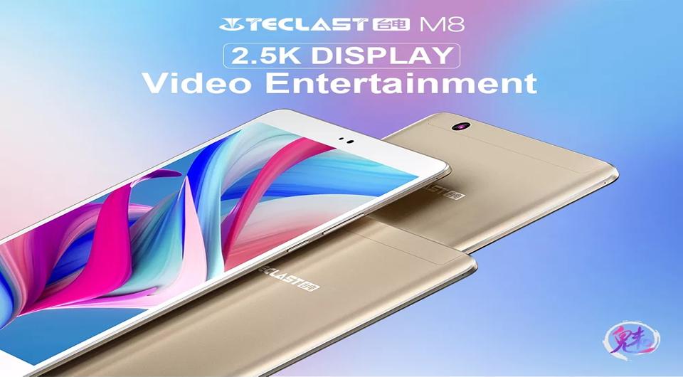 Teclast M8 Tablet PC 3GB RAM 32GB ROM