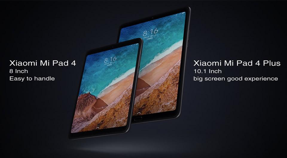 XIAOMI Mi Pad 4 Tablet PC 4GB RAM 64GB ROM