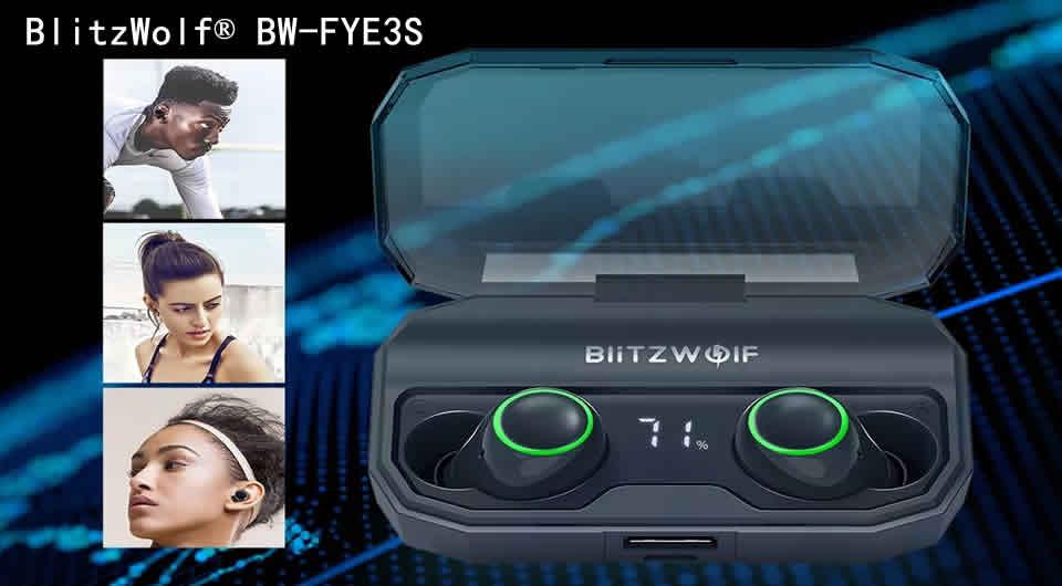 BlitzWolf® BW-FYE3S Wireless bluetooth 5.0 Earphone