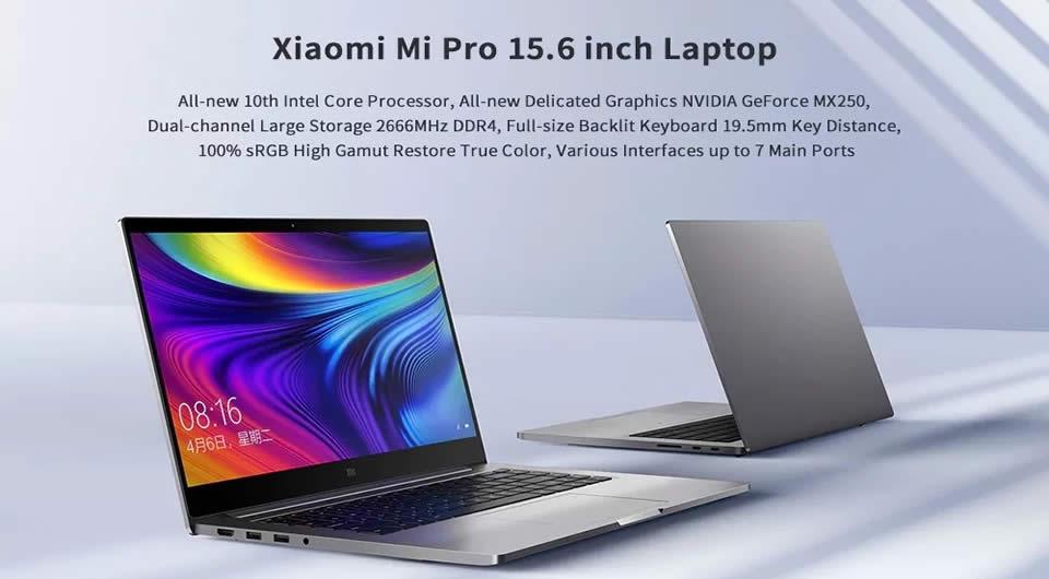 Xiaomi Mi Pro Laptop 16GB RAM 1TB PCle NVMe SSD