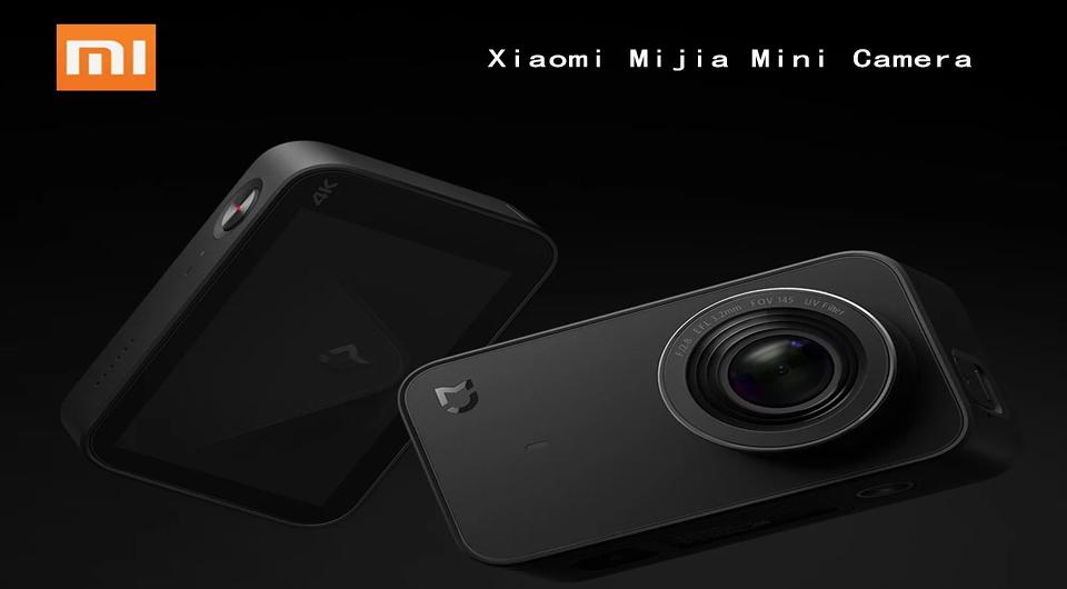 Xiaomi Mijia Mini Camera 4K 30fps Global Version