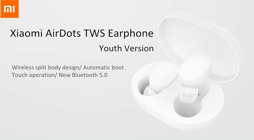 Xiaomi TWS Airdots Bluetooth Earphone