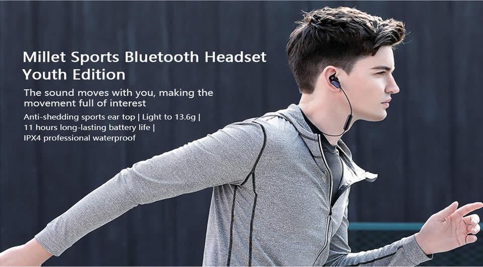 Xiaomi Youth Wireless bluetooth Earphone – Black