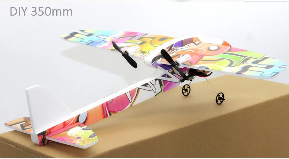 DIY-350mm-RC-Airplane-RTF