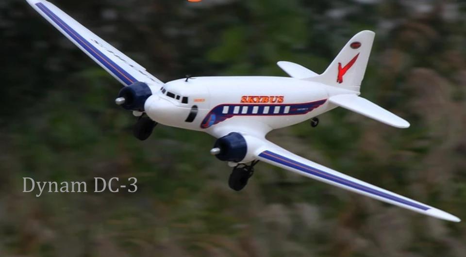Dynam-DC-3-RC-Airplane-PNP