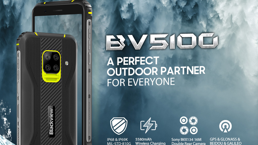 Blackview-BV5100-4G-Smartphone